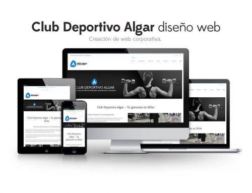 Club Deportivo Algar – Diseño Web