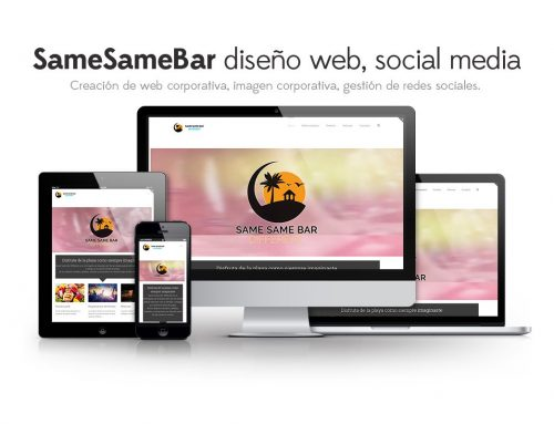 Same Same Bar Different – Diseño Web & Social Media